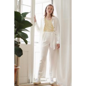 Trine bukse hvit