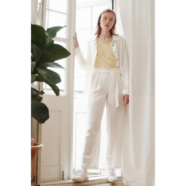 Tove bukse hvit