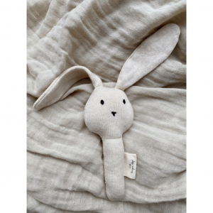 KONGES SLØJD - ACTIVITY HAND RABBIT OFF WHITE MELANGE