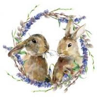 Rabbit Wreath Lunsj