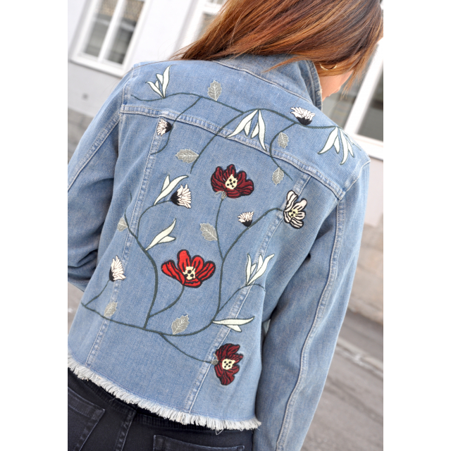 Freja flower jacket