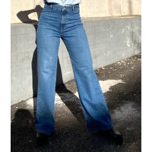 Asly Wide Jeans - Light Blue Denim