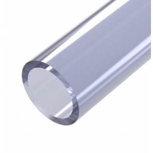 40mm transparent pvc rør 10CM