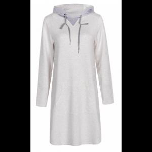 WHITNEY hood dress