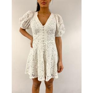 Deanna Dress - Bright White