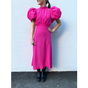 Dawn Dress - Fuchsia Purple