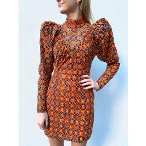 Ida Dress - Mandarin Orange