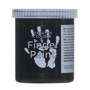 Fingermaling 80 ml Svart