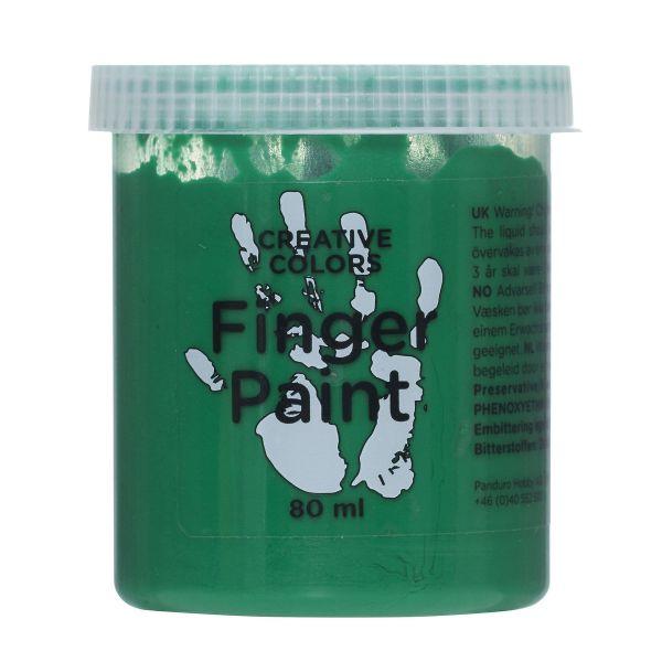 Fingermaling 80 ml Grønn
