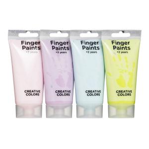 Fingermaling 4p pastell