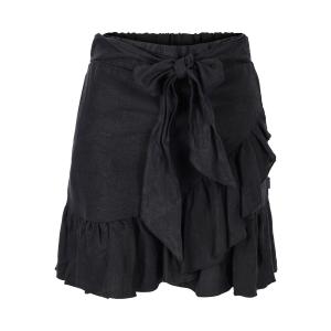 Juliette linen skirt