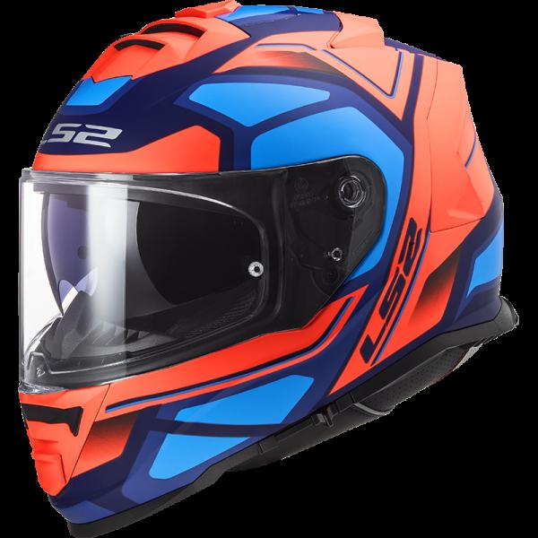 LS2 FF800 Storm Blå/Orange