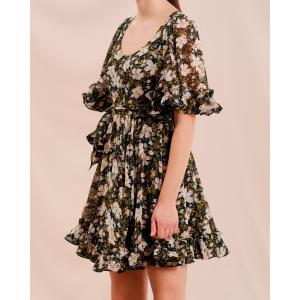 Georgette  Mini Dress