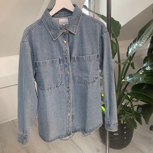 Vance Pocket Denim Shirt