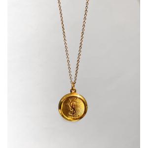 YSL Redesign Smykke Medium - Golden