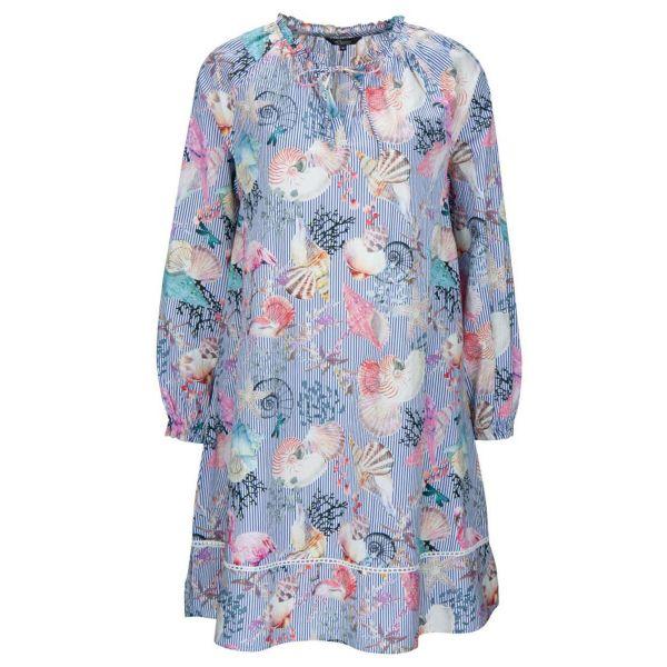 Seashell Popeline Dress