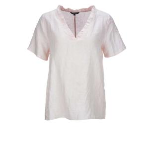 Vneck Linen Shirt