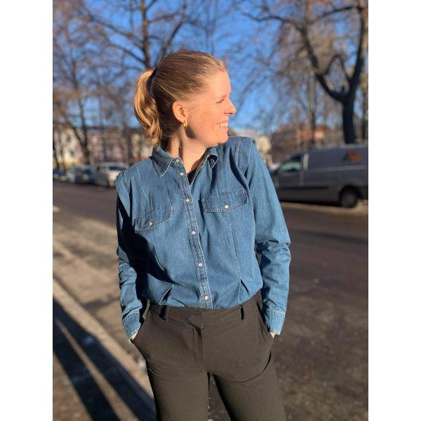 Bluebell jeansskjorte