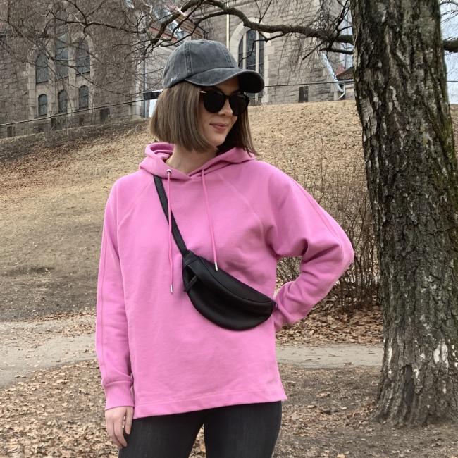 Jasie Hood Sweat Pink