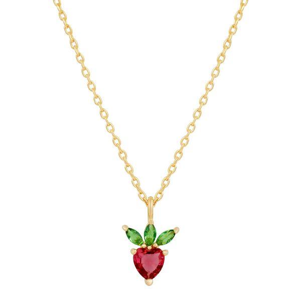Strawberry - Halskjede