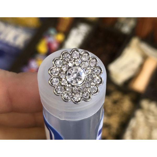 Bling knapp - 15mm
