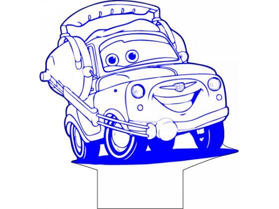 Lighting McQueen - Luigi 2