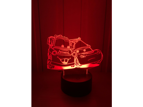 Lighting McQueen - McQueen og Bill