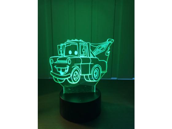 Lighting McQueen - Taue bill