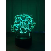 3D Lampe - Bowser