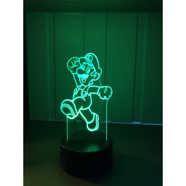 3D Lampe - Luigi