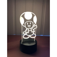 3D Lampe - Toad