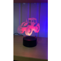 3D Lampe - Traktor