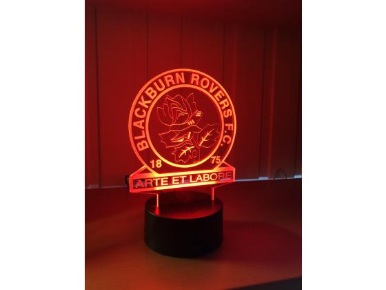 3D Lampe - Fotball - Blackburn