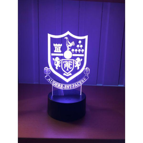 3D Lampe - Fotball - Tottenham