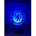 3D Lampe - Fotball - Chelsea