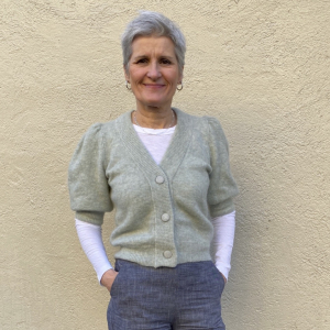 Debbie Puff Cardigan