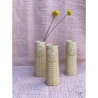 Dottir vase - Pipanella (curry/lys gul farget)