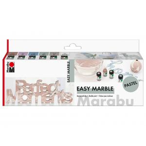Marabu Easy Marble Sett Pastell