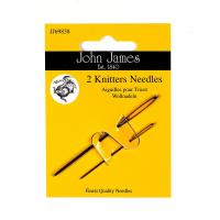 J.James - 2 Knitters Needles