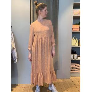Nella kjole fersken