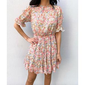 Sophie Mini Dress - Flower