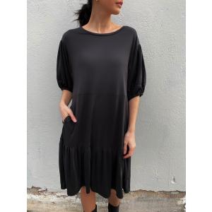 Jennifer SS Dress - Black
