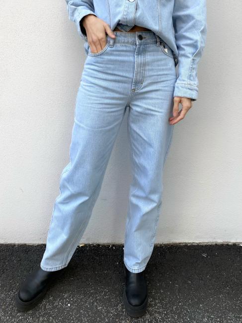Dacy Straight Jeans - Light Blue Vintage