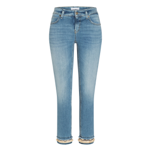 Tess straight Jeans double fringed