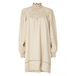APPLE LINEN DRESS