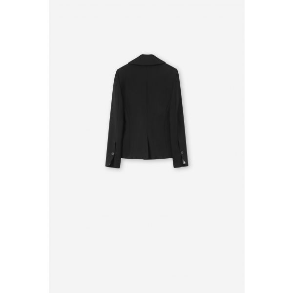 JAEL FIRM WOOL FITTED BLAZER