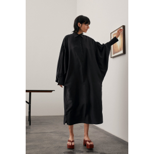 DEE HABOITAI OVERSIZED SHIRT DRESS