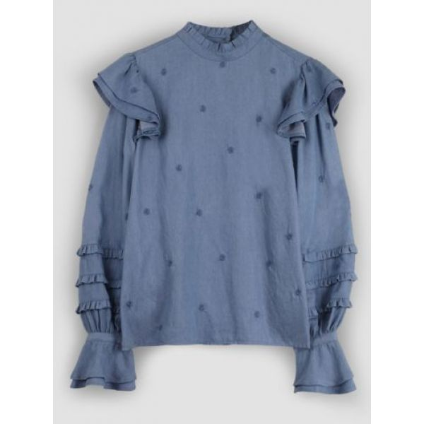 Leo Indy Frill Top