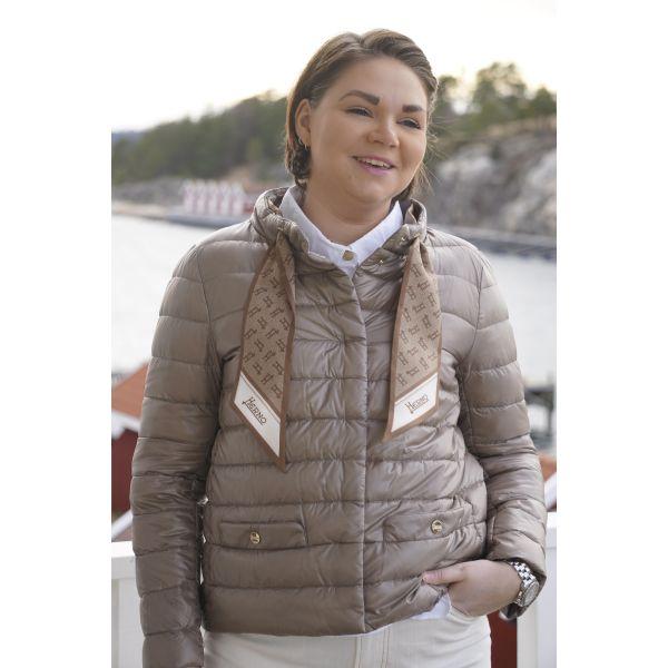 Herno Sand scarf Jacket PI1266D12017