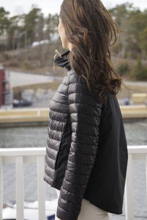 Herno Black jacket PI0927D12017
